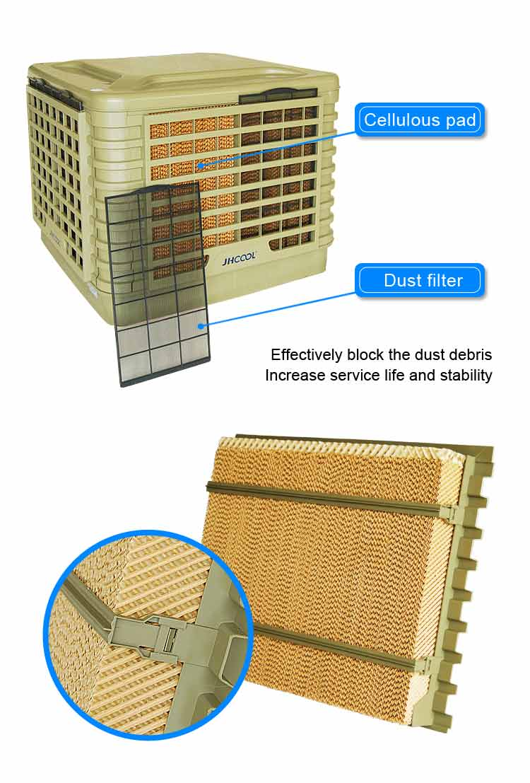 HEALTH BENEFITS OF EVAPORATIVE AIR CONDITIONING